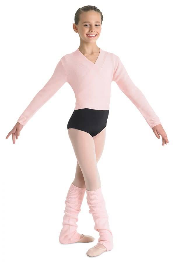 Bloch Wrap knit cross over sweater  Bloch CZ0999