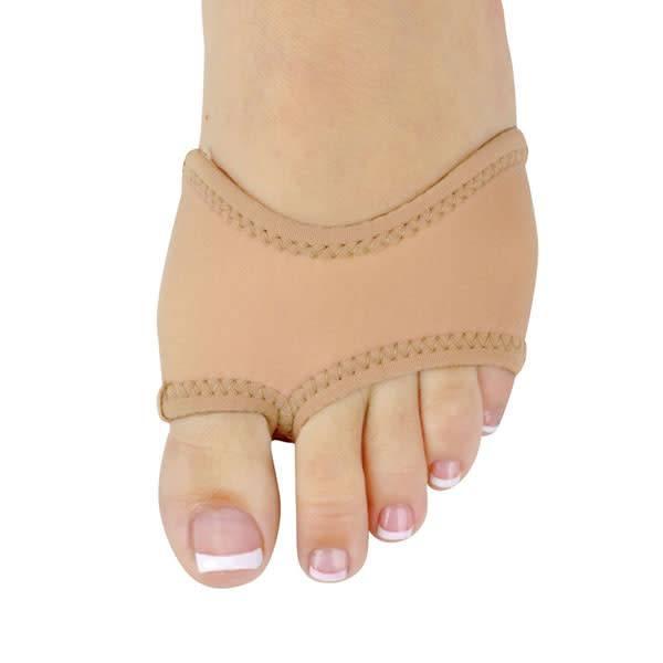 """DanzNmotion Bout de pied """"Foot Thong"""" Danshuz 6420, En néoprène couleur: Tan"""