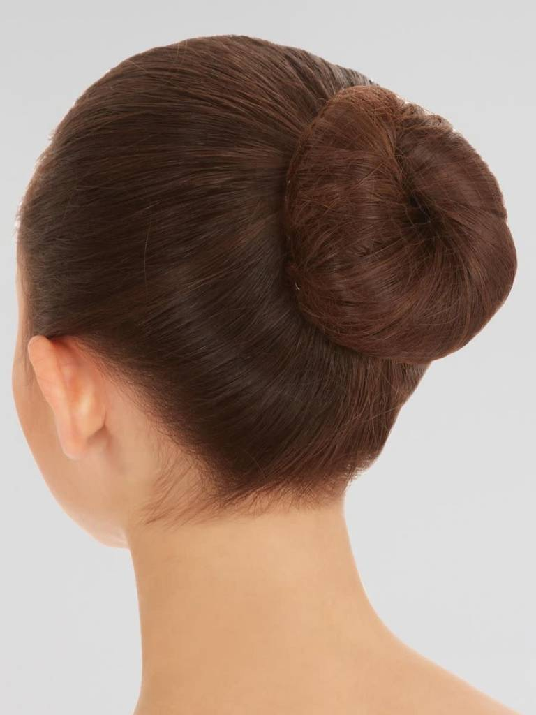 Bunhead Filet à chignon Capezio BH424, Couleur: BLk black, 3 par paquet