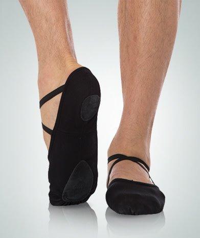 Angelo Luzio Ballet shoes  Angelo Luzio 246A, Split sole, Stretch canvas