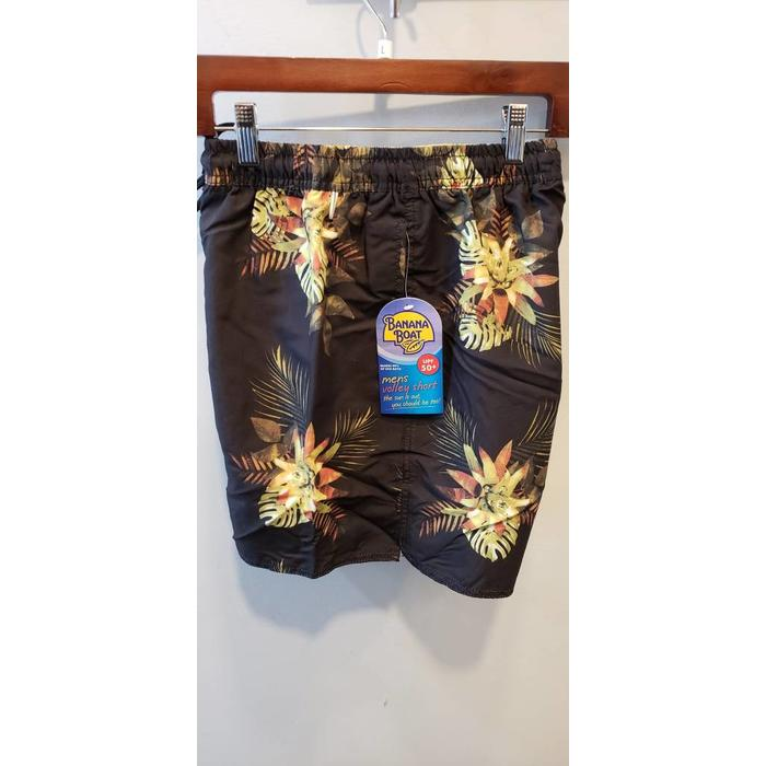 BB V-511 Black Swim Trunks