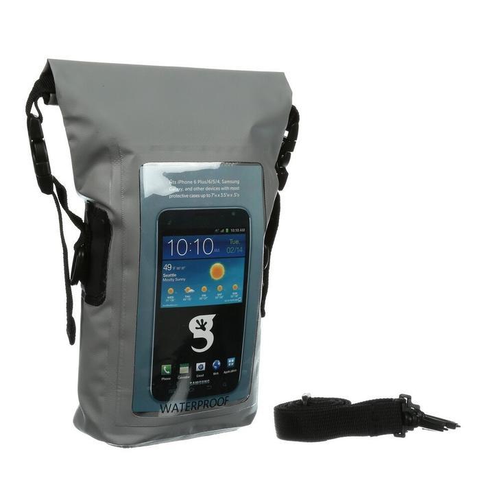 Gecko Waterproof Phone Tote
