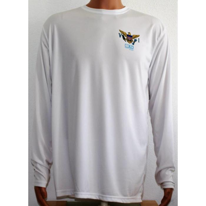Vapor Men's Dry-Fit LS VI Flag