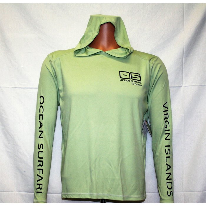 OS SPF 50+ Performance Men's Hoodie Sage