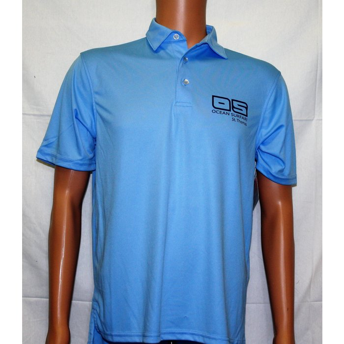 Vapor Men's Polo Columbia Blue