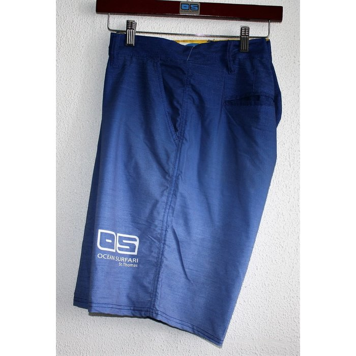 BB H-19 Mens 4 Way Short Blue
