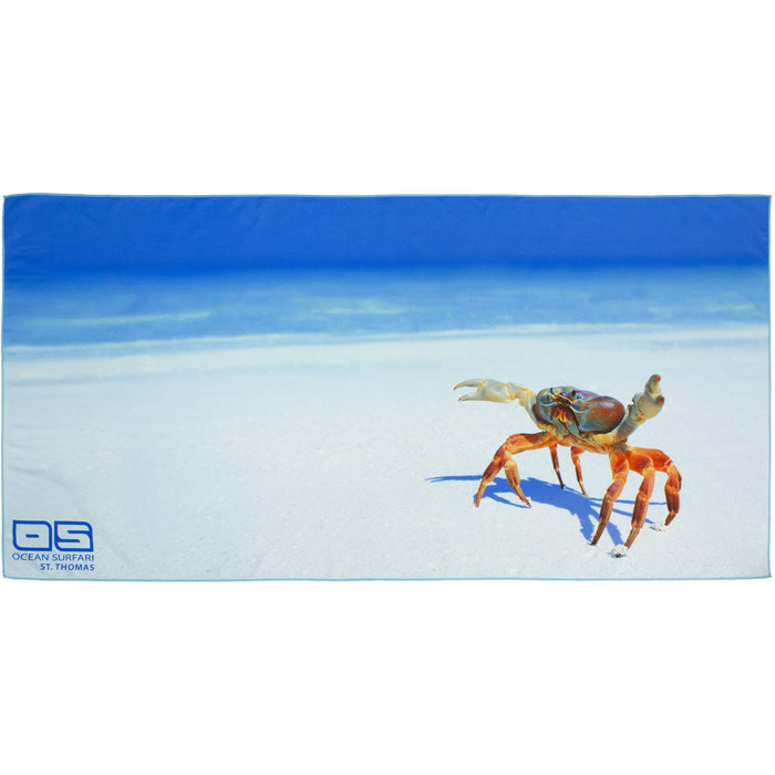 Party Crab Towel