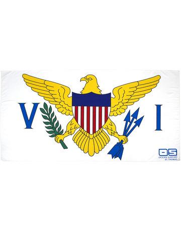 Ocean Surfari VI Flag Towel