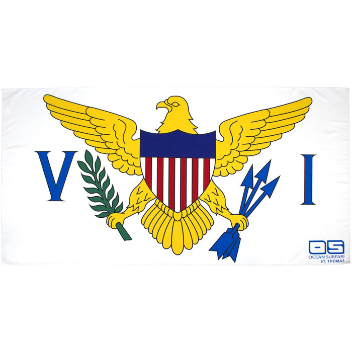 VI Flag Towel
