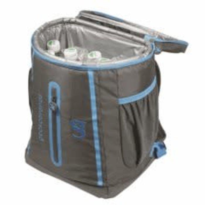 Gecko Backpack Cooler Grey/Blue