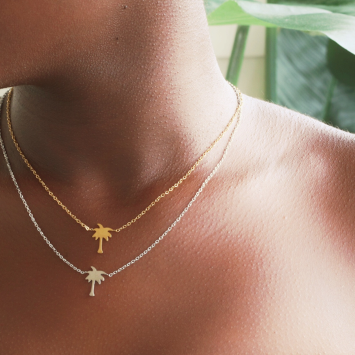 Palmtree Necklace SV