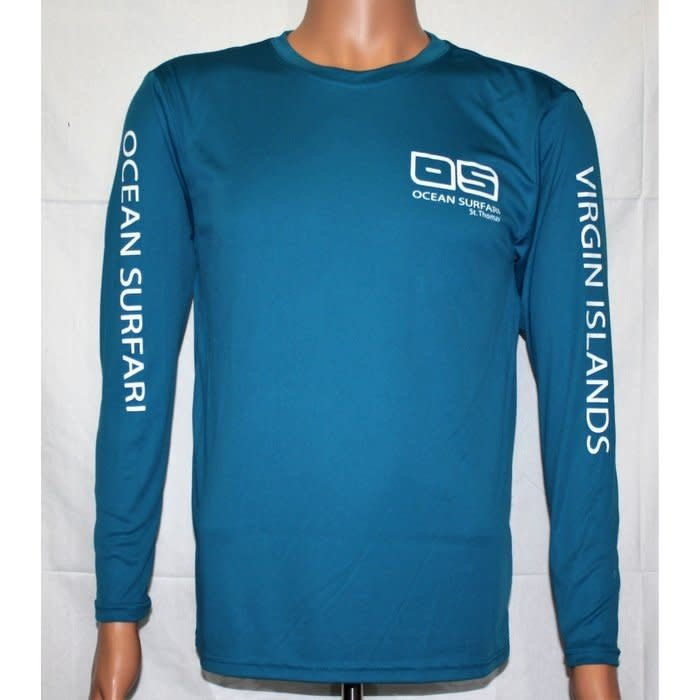 OS SPF 50+ Performance Youth LS Teal