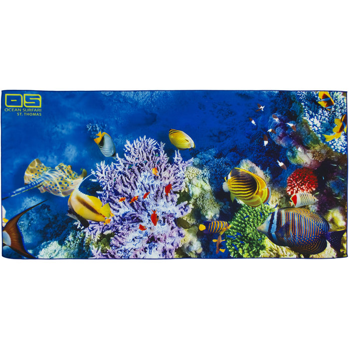 Coral Reef Towel