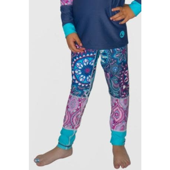 WL Girl's Leggings Paisley
