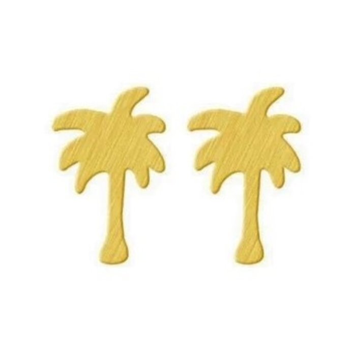 Palm Earring Gold