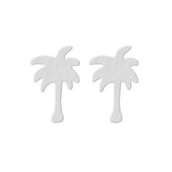 Palm Earring Silver