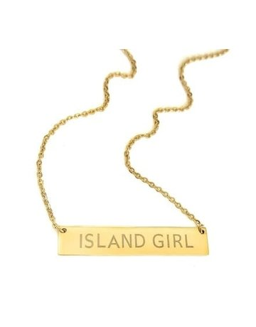 Adult Island Girl WB Gold