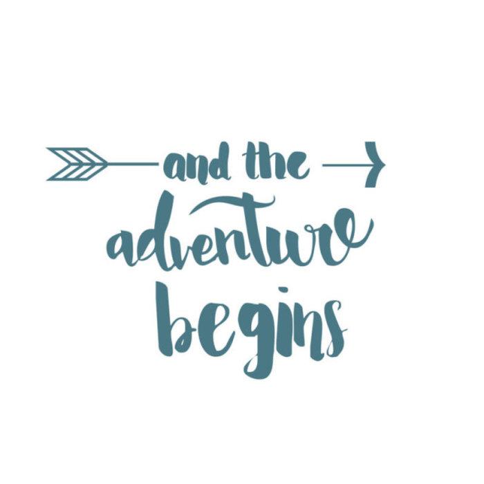 Adventure Begins Decal