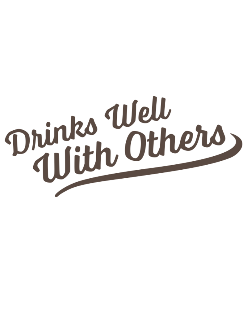 Sticker-Lishious Drinks With Others Decal