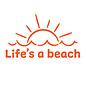 Life's a Beach Decal