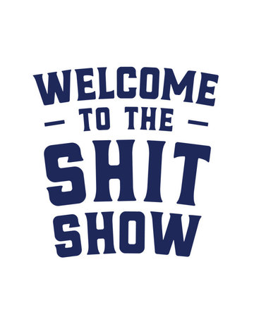 Sticker-Lishious Shit Show Decal
