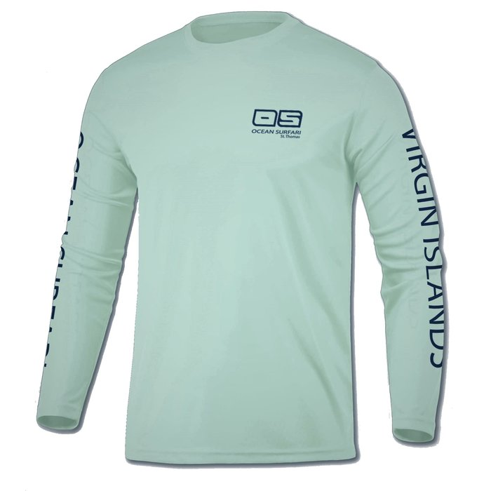 OS SPF 50+ Performance Youth LS Seafoam