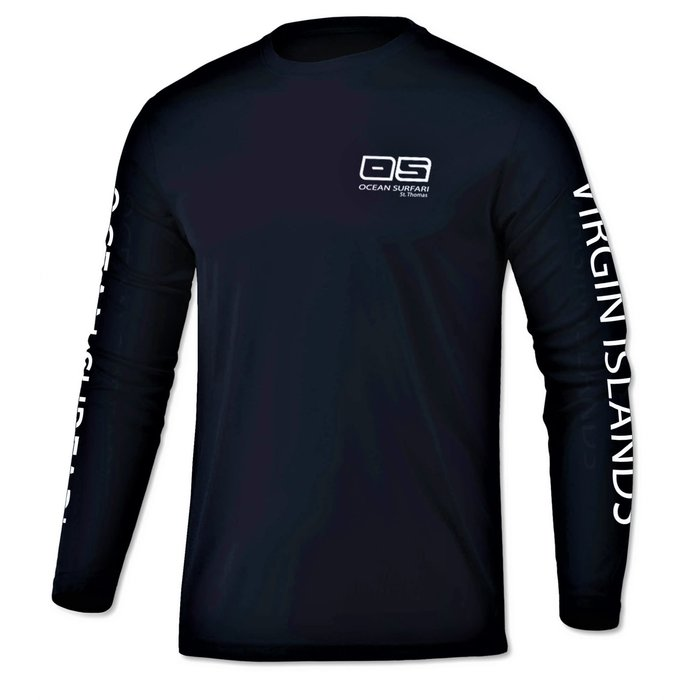OS SPF 50+ Performance Youth LS Navy