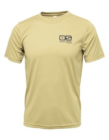 Ocean Surfari OS SPF 50+ Performance SS Men's Vegas Gold