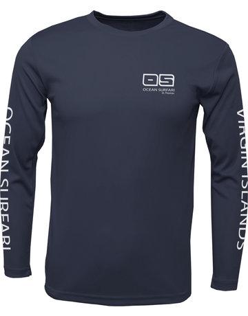 Ocean Surfari OS SPF 50+ Performance Men's LS Navy