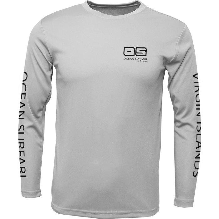 OS SPF 50+ Performance Men's LS Silver