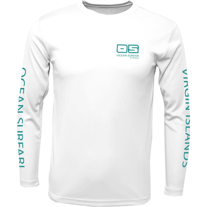 OS SPF 50+ Performance Men's LS White
