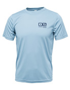 Ocean Surfari OS SPF 50+ Performance Men's SS Ice Blue