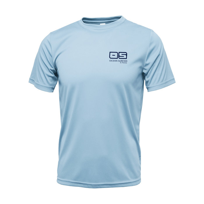 OS SPF 50+ Performance Men's SS Ice Blue