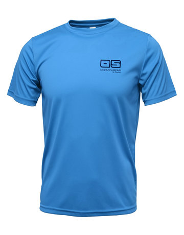Ocean Surfari OS SPF 50+ Performance Men's SS Col Blue