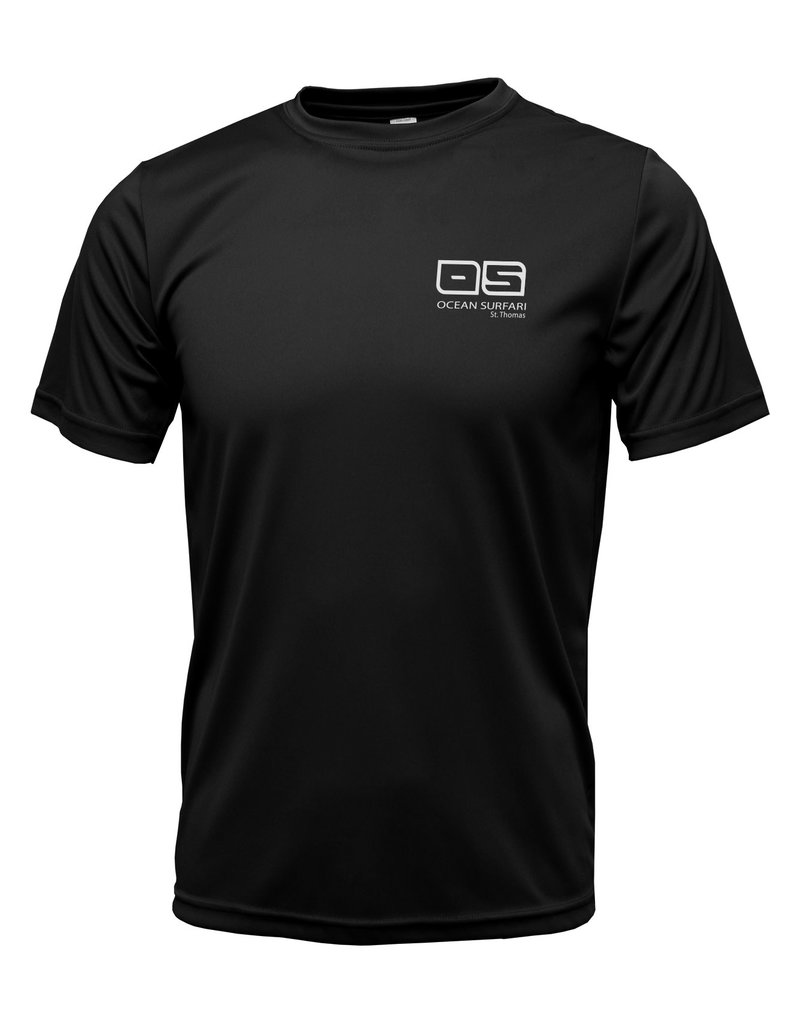 Ocean Surfari OS SPF 50+ Performance Men's SS Black