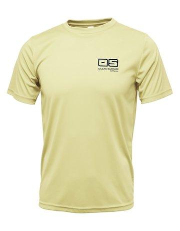 Ocean Surfari OS SPF 50+ Performance SS Men's Pale Yellow
