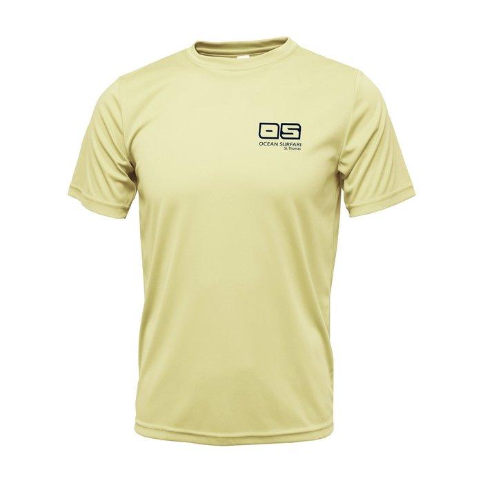 OS SPF 50+ Performance SS Men's Pale Yellow