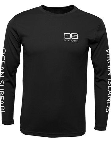 Ocean Surfari OS SP 50+ Performance Men's LS Black