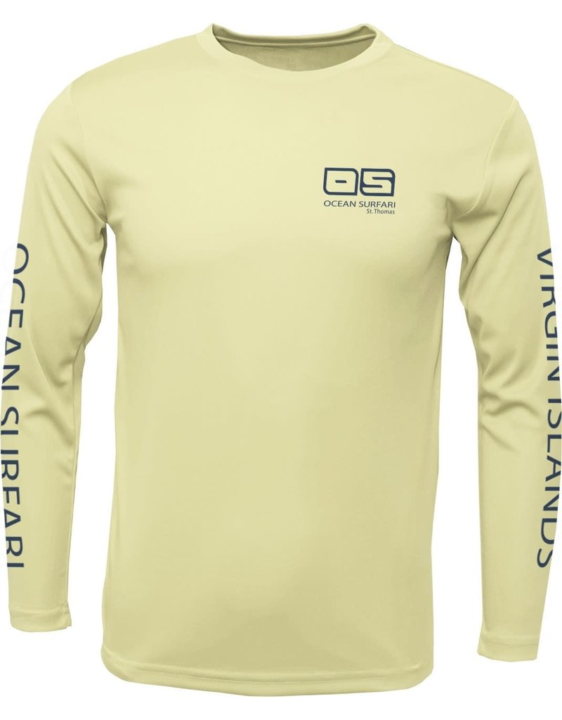 Ocean Surfari OS SPF 50+ Performance Men's LS Canary