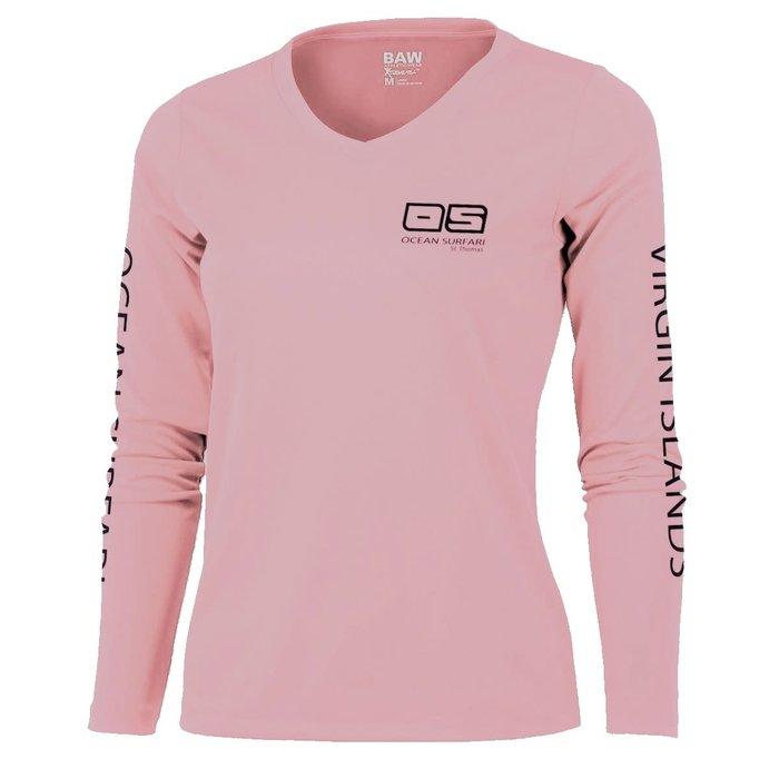 BAW XT97 Ladies Long Sleeve Lt Pink