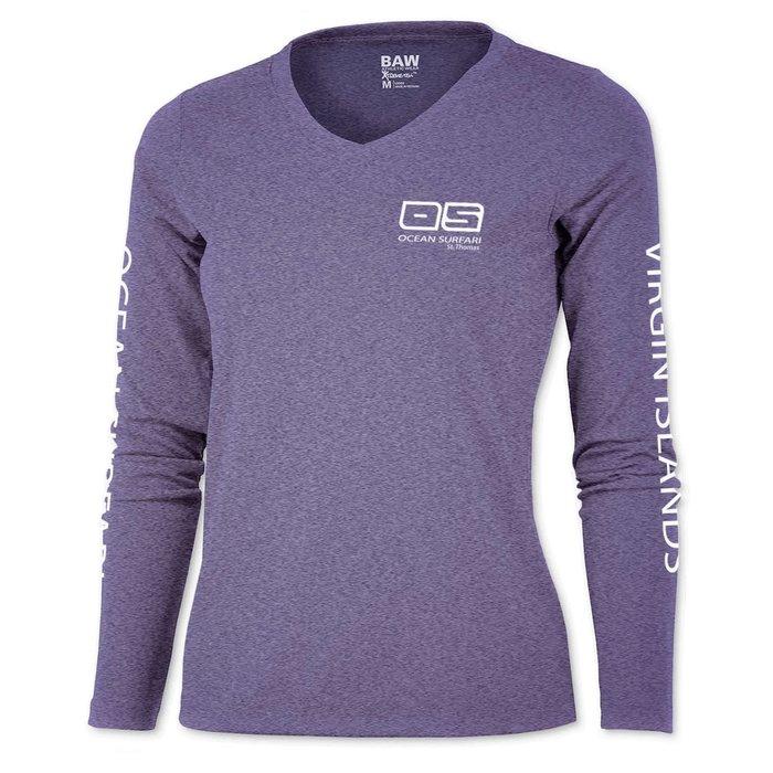 BAW XT97 Ladies Long Sleeve Heather Purple