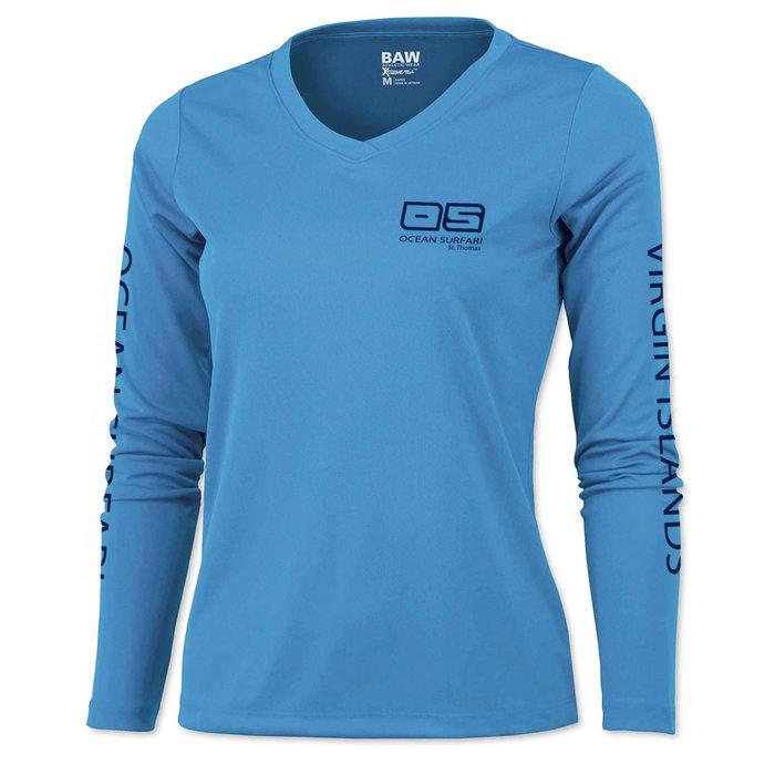 BAW XT97 Ladies Long Sleeve Columbia Blue