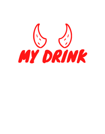 Sticker-Lishious My Drink Decal