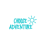 Sticker-Lishious Choose Adventure Decal