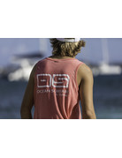 Ocean Surfari Men's Vintage Tank Tango Red