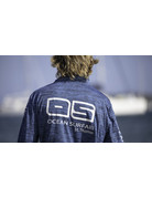 Ocean Surfari OS SPF 50+ Performance Men's 1/4 Zip Space Navy