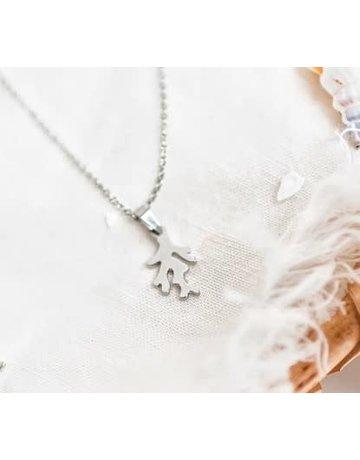 Coral Reef Necklace Silver