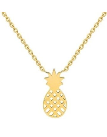 Pineapple Necklace GD