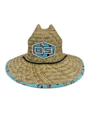 Ocean Surfari O/S Youth Straw Hat