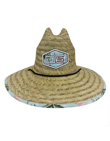 Ocean Surfari O/S Adult Straw Hat